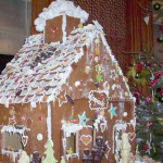 Atlanta Georgia Christmas Gingerbread home