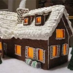 Denver Colorado gingerbread customs hut