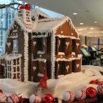 Boston Massachusetts Four feet by four feet custom gingerbread house