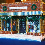 Georgetown-Washington-DC-Music-store-Christmas-Gingerbread Candy Store