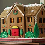Giant New york city home design gingerbread custom house