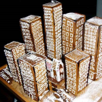 Manhatten-New-York-City-Sky-Line-Gingerbread-Custom-city-Scap
