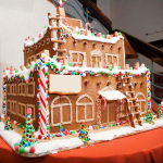 Maryland hotel lodge custom giant gingerbread hotel Four foot Tall