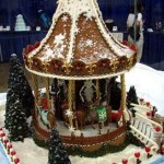 New-Jersey-Christmas carousel custom decorated gingerbread playground