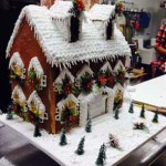 Phoenix-Arizona-five-foot-high-custom-Christmas-  Gingerbread-house