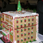 Washington DC Six story high two hundred room custom gingerbread hotel