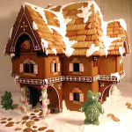 Christmas gingerbread high rise San Francisco biulding  house for your custom choice