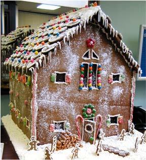 Custom Gallery Christmas Gingerbread House