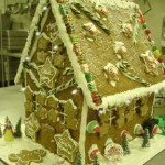 New York City Manhattan Giant gingerbread Tv's comedian's famous Gingerbread shack to eat