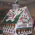 New-Orleans-Louisiana all in collusive gingerbread house