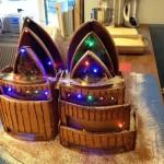 New jersey Newark gingerbread custom decorated opera house
