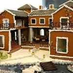 Atlantic-City-Christmas-gingerbread--customised-doll-house