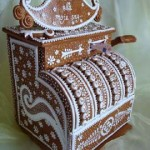 Mobil-Alabama-Cash-Register-Custom-Gingerbread-cake