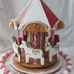 Philadelphia-Pennsylvania-Gingerbread-carousel-person-cake