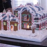 Christmas-Chateau-snow-topped-custom-gingerbread-mansion