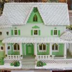 Atlanta-Georgia-Green-faced-custom-gingerbread-cottage