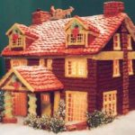 Minnesota-Minneapolis-two-story-Log-cabin-gingerbread-house