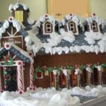 Vermont-country-snow-toped-Custom-Gingerbread-lodge