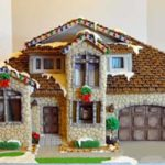 Connecticut-Bridgeport-Cobblestone-Brick-and-Mortar-Custom-Gingerbread-House