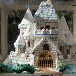 California-San-Diego-Blue-White-Frosted-Christmas-Gingerbread-Castle