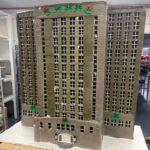 California-San-Diego-Corporate-Twenty-Story-Office-Gingerbread-Custom-Building
