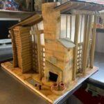 Boston-Massachusetts-Snow-Log-Cabin-Custom-Gingerbread-House