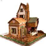 Boston-Massachusetts-Three-Story-Christmas-Gingerbread-Barn