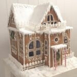 Los-Angeles-California-Frosted-Custom-Gingerbread-Winter-Cottage